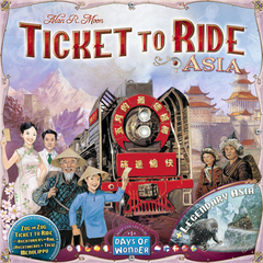 Ticket to Ride Map Collection: Volume 1 - Team Asia & Legendary Asia (In-Store Sales Only)