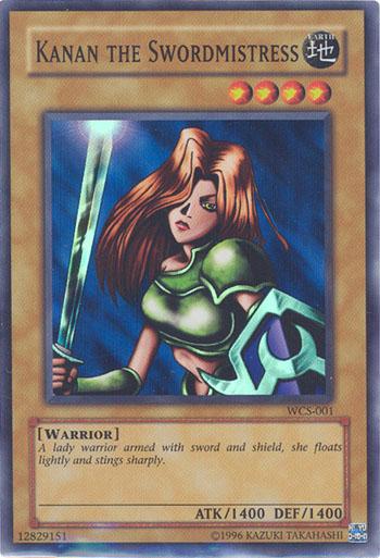Kanan the Swordmistress - WCS-001 - Super Rare - Limited Edition