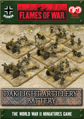 DAK Light Artillery Battery
