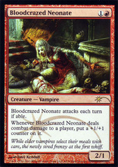 Bloodcrazed Neonate - WPN Foil on Channel Fireball