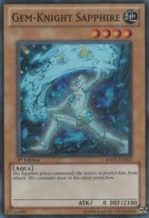Gem-Knight Sapphire - HA05-EN002 - Super Rare - 1st Edition