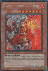 Laval Judgment Lord - HA05-EN014 - Secret Rare - 1st Edition