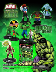 Incredible Hulk Booster Case (20ct)