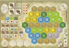 The Castles of Burgundy: New Player Boards