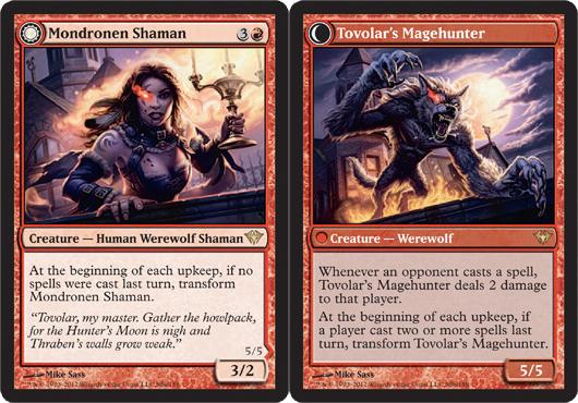 Mondronen Shaman // Tovolars Magehunter