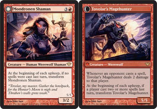 Mondronen Shaman // Tovolars Magehunter - Foil