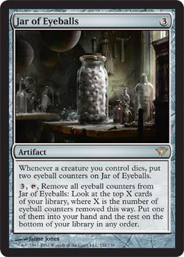 Jar of Eyeballs - Foil