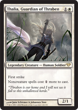 Thalia, Guardian of Thraben - Foil