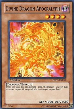 Divine Dragon Apocralyph - ORCS-EN036 - Common - 1st Edition