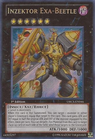 Inzektor Exa-Beetle - ORCS-EN046 - Secret Rare - 1st Edition