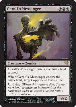 Geralf's Messenger - Foil