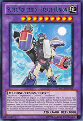 Super Vehicroid - Stealth Union - Blue - DL12-EN011 - Rare - Unlimited Edition