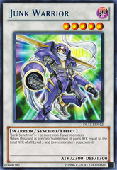 Junk Warrior - Blue - DL12-EN012 - Rare - Promo Edition on Channel Fireball