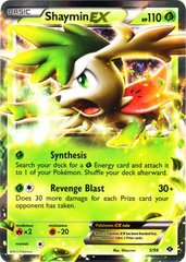 Shaymin-EX - 5/99 - Holo Rare ex on Channel Fireball