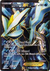 Kyurem-EX - 96/99 - Full Art Ultra Rare on Channel Fireball