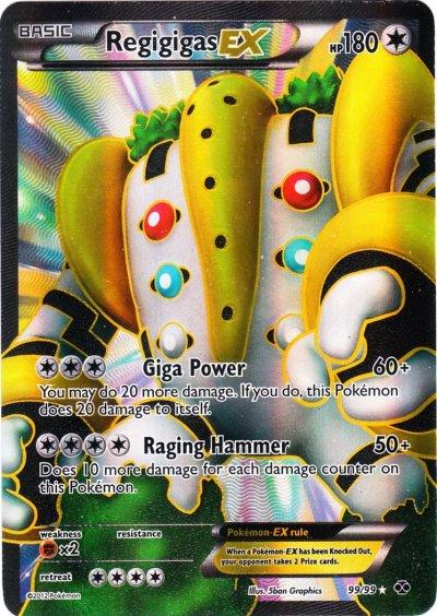 Regigigas-EX - 99/99 - Full Art Ultra Rare