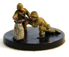 MG 34 Machine-Gun Team