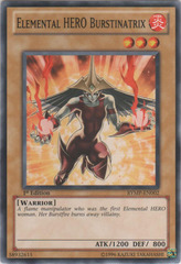 Elemental HERO Burstinatrix  - RYMP-EN002 - Common - 1st Edition