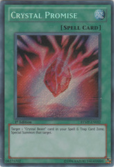 Crystal Promise - RYMP-EN052 - Secret Rare - 1st Edition