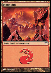 Mountain (302) - Foil on Channel Fireball