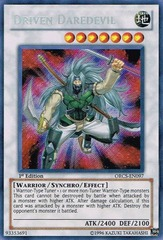 Driven Daredevil - ORCS-EN097 - Secret Rare - Unlimited Edition