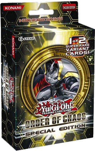 Yu-Gi-Oh Order of Chaos Special Edition Pack