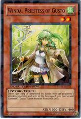 Winda, Priestess of Gusto - DT05-EN073 - Parallel Rare - Duel Terminal