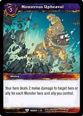 Monstrous Upheaval