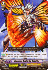 Crimson Butterfly, Brigitte - TD01/001EN  (Non-Holo) on Channel Fireball