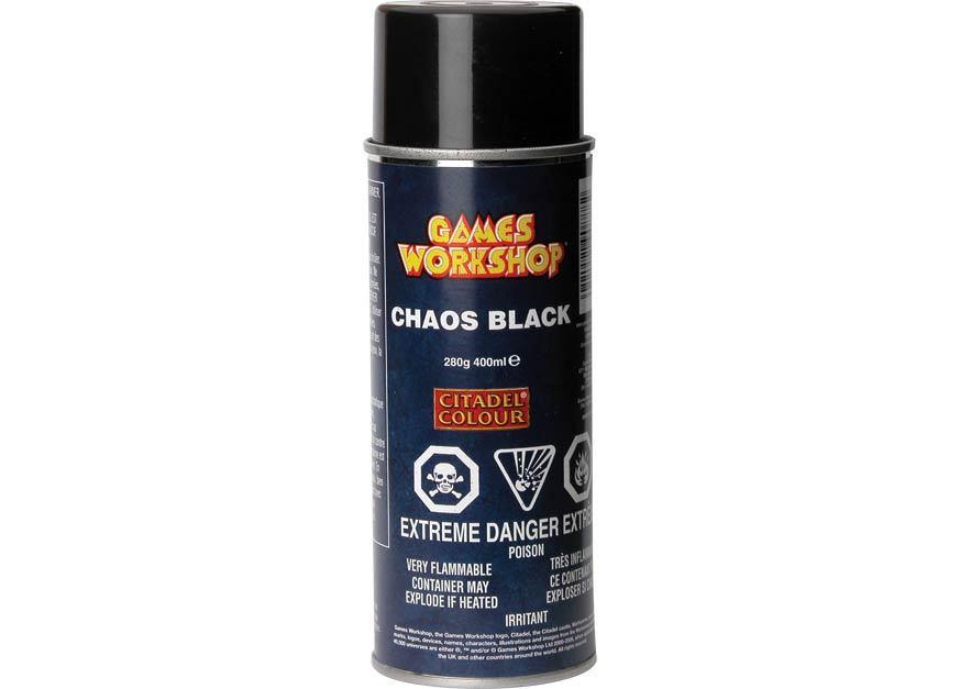Chaos Black Primer Spray 62-02