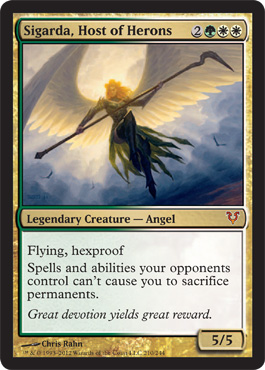 Sigarda, Host of Herons - Foil