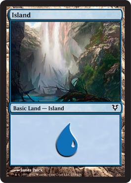 Island (233) - Foil