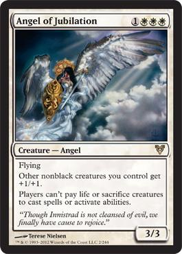 Angel of Jubilation - Foil
