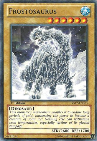 Frostosaurus - YS12-EN003 - Common - 1st Edition
