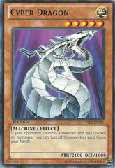 Cyber Dragon - YS12-EN011 - Common - 1st Edition
