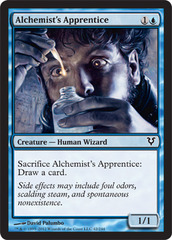 Alchemist's Apprentice on Channel Fireball