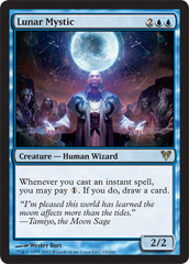 Lunar Mystic - Foil on Channel Fireball