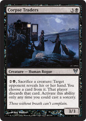 Corpse Traders - Foil on Channel Fireball