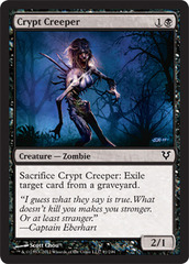 Crypt Creeper - Foil on Channel Fireball
