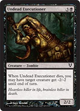 Undead Executioner - Foil