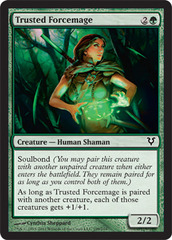 Trusted Forcemage - Foil