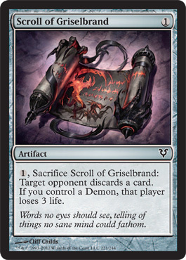 Scroll of Griselbrand - Foil