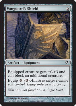 Vanguards Shield - Foil