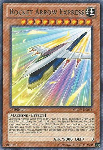 Rocket Arrow Express - GAOV-EN016 - Rare - 1st Edition