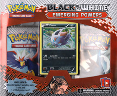 Pokemon Black & White BW2 Emerging Powers 3-Booster Blister Pack - Zorua Promo