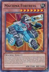 Machina Fortress - BP01-EN022 - Rare - 1st Edition