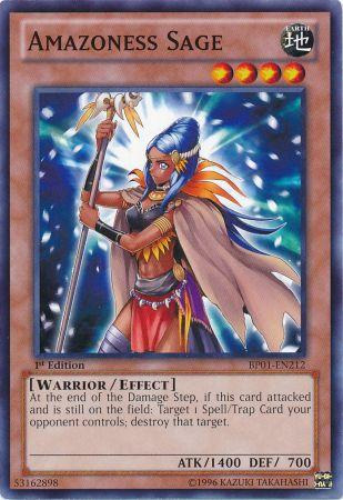 Amazoness Sage - BP01-EN212 - Common - 1st Edition