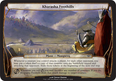 Kharasha Foothills on Channel Fireball