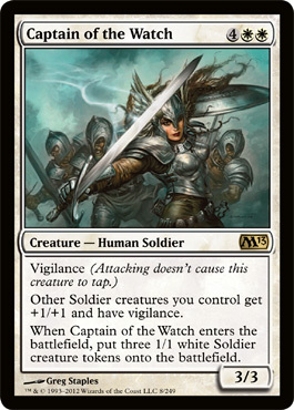 Captain of the Watch - Foil