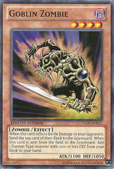 Goblin Zombie - GLD5-EN021 - Common - Limited Edition on Channel Fireball